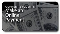 Current students make an online payment