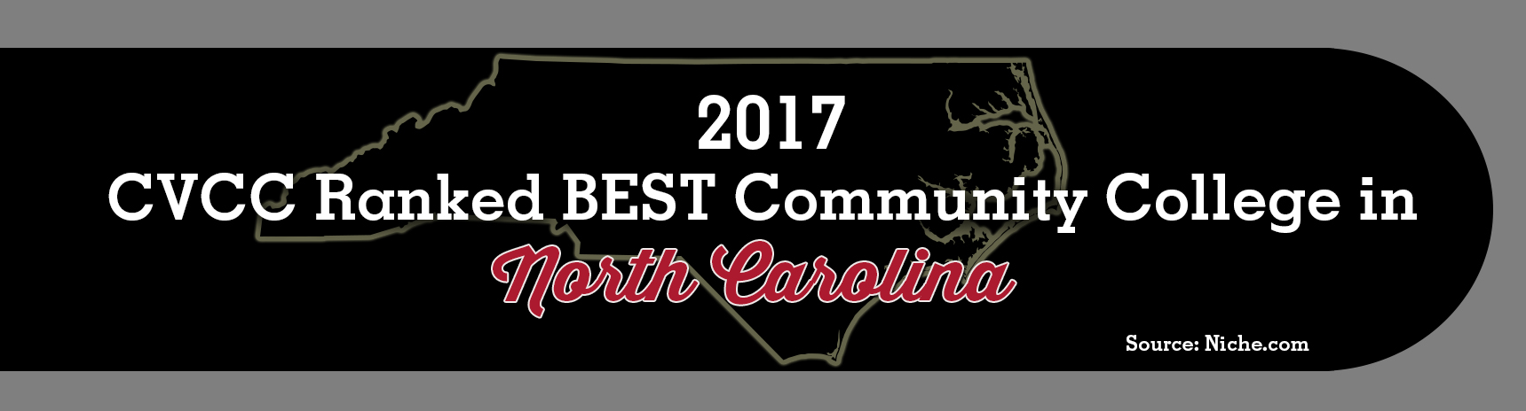 CVCC Ranked Best Community College in North Carolina for 2017