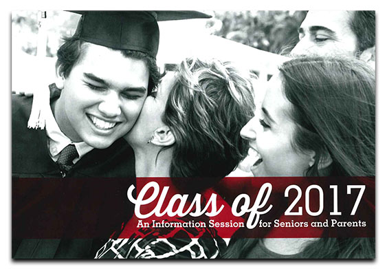 Class of 2017 - An Information Session for Seniors and Parents