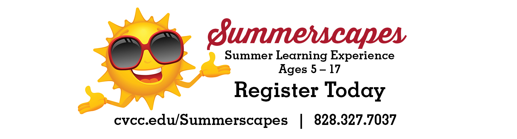 Summerscapes 2017 for ages 5-17 - Register Today