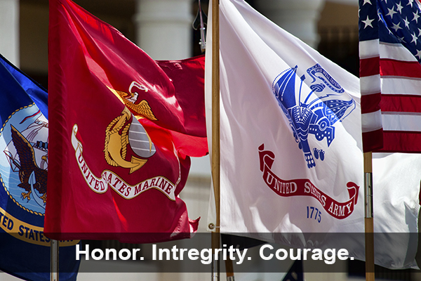 Honor. Integrity. Courage.
