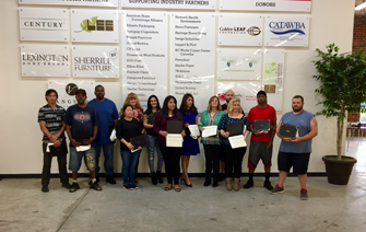 October 2018 Furniture Academy Grads