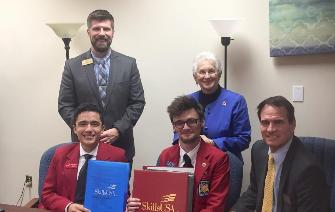 Rep Fox-SkillsUSA Officers
