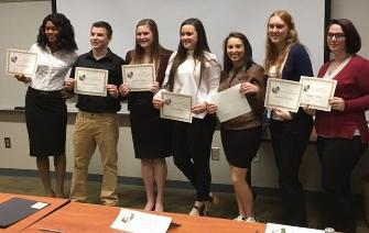 Shark Tank Student Finalists Fall 2017