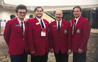 Students attend SkillsUSA WLTI 2018 Conference